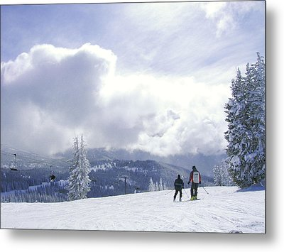 from the top of Sunshine chair Metal Print