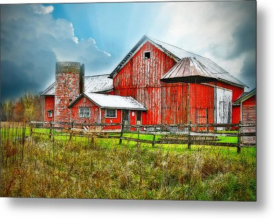 Metal Print featuring the photograph Frosted by Mary Timman