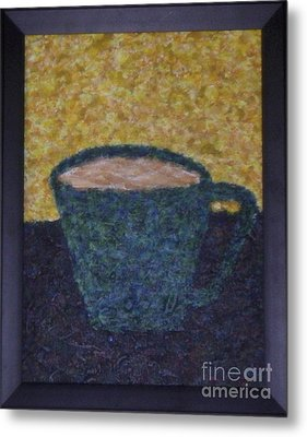 Frothy Goodness Metal Print