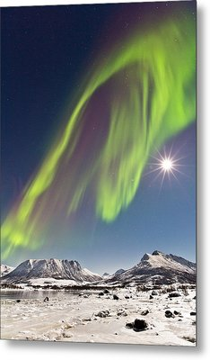 Frozen World Metal Print