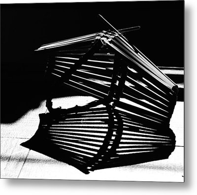 Fruit Basket Metal Print by Susan Capuano