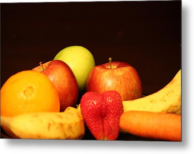 Fruit Dreams After Mid-night Metal Print by Andrea Nicosia