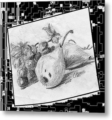 Fruit Metal Print by Gail Schmiedlin