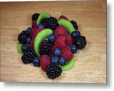 Fruit Mixture 2 Metal Print by Michael Waters