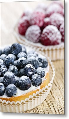 Fruit Tarts Metal Print