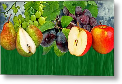 Fruits Metal Print by Manfred Lutzius