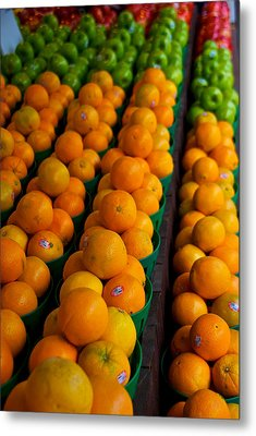 Fruits Metal Print by Mike Horvath