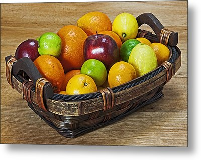 fruits with vitamin C Metal Print by Joana Kruse