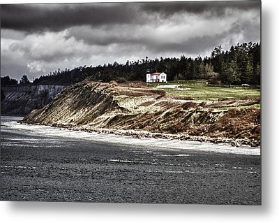 Ft Casey Lighthouse Metal Print by Tony Locke