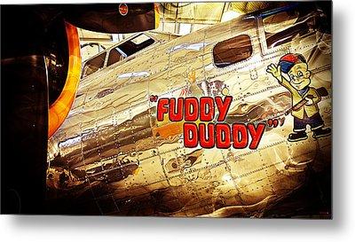 Fuddy Duddy Metal Print