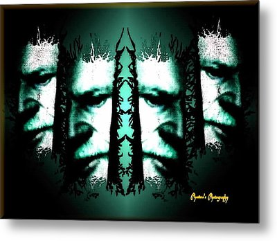Metal Print featuring the digital art Fugitive by Sadie Reneau