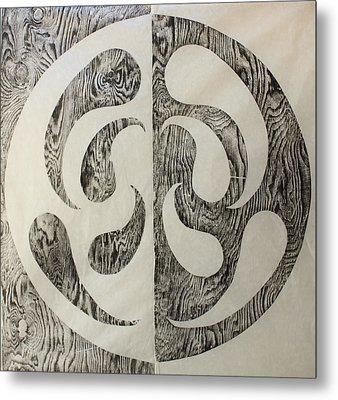 Full Swing Yin Yang Metal Print