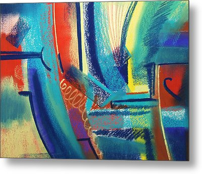 FUN Metal Print by Marie-Claire Dole