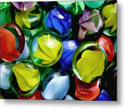 Fun With Circles Metal Print by Kathleen Holley