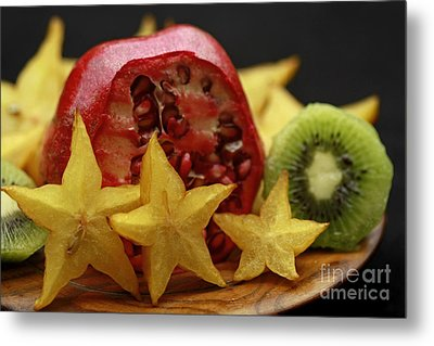 Fun With Fruit Metal Print by Inspired Nature Photography Fine Art Photography