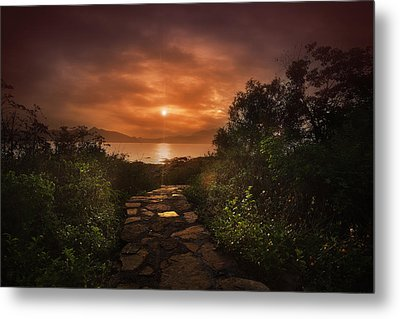 Future Metal Print by Afrison Ma
