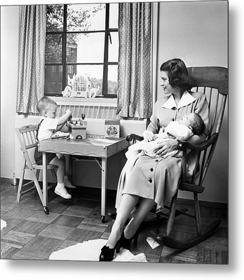 Future First Lady In 1952.  Betty Ford Metal Print by Everett