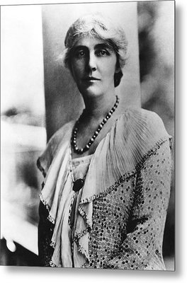 Future First Lady Lou Henry Hoover Metal Print by Everett