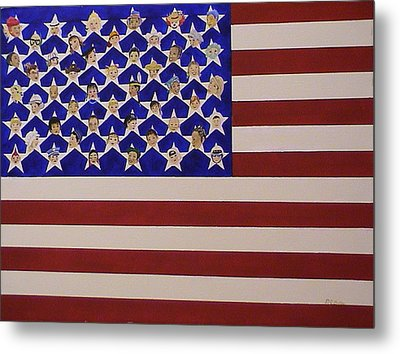 Future Stars Of The United States Of America Metal Print by DJ Bates