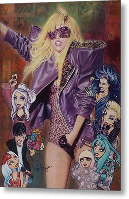 Gaga And The Seven Monsters Metal Print by Stapler-Kozek