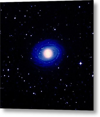 Galaxy Ngc 1398 Metal Print by Celestial Image Co.