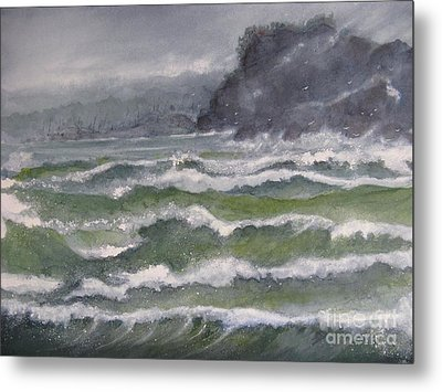 Gale Force Metal Print by Ronald Tseng