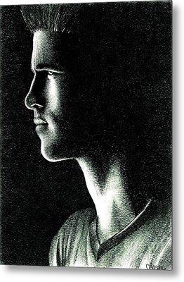 Gale Hawthorne Metal Print by Crystal Rosene