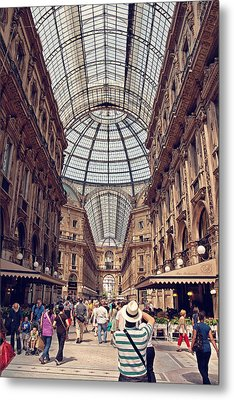 Galleria Vittorio Emanuele Metal Print by Benjamin Matthijs
