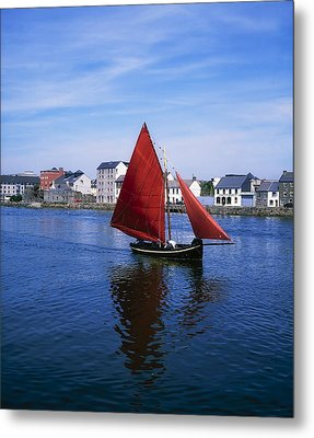 Galway, Co Galway, Ireland Galway Metal Print by The Irish Image Collection