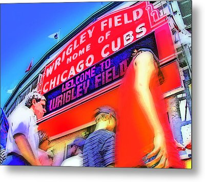 Game Day One Metal Print