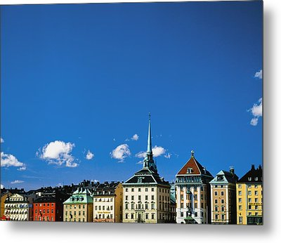 Gamia Stan Main Square Metal Print by Axiom Photographic