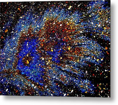 Metal Print featuring the photograph Gamma Ray Burst by Samuel Sheats