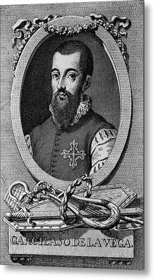 Garcilaso De La Vega 1503-1536 Spanish Metal Print by Everett