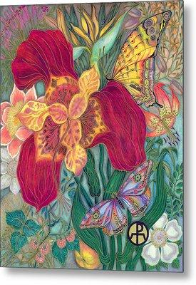 Garden Of Eden - Flower Metal Print