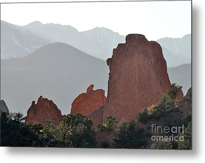 Metal Print featuring the photograph Garden Of The Gods by Cheryl McClure