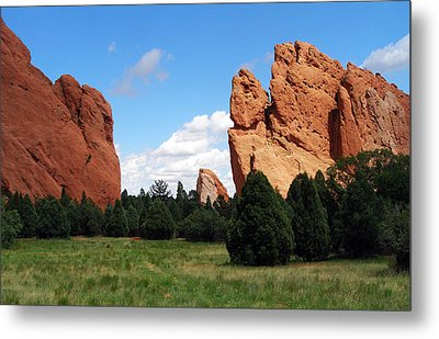 Metal Print featuring the photograph Garden Of The Gods by David Pantuso