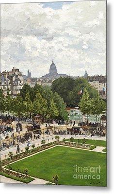 Garden Of The Princess Metal Print by Claude Monet