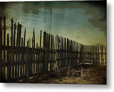 Garden Of Thirst  Metal Print by Empty Wall