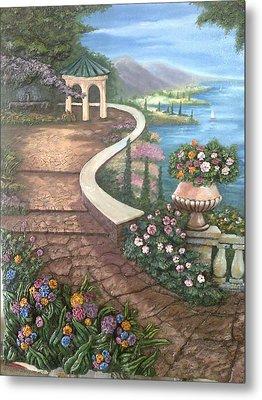 Garden View 3 Metal Print by Prashant Hajare