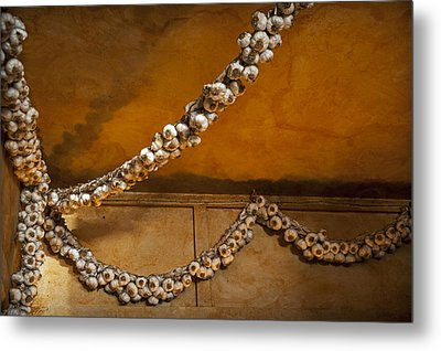 Garlic Goodness Metal Print by Anthony Citro