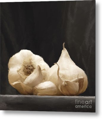Garlics Metal Print by Johnny Hildingsson