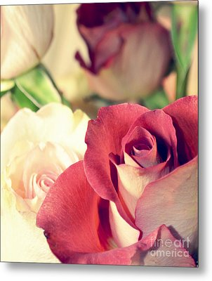 Metal Print featuring the photograph Gather Beauty by Robin Dickinson