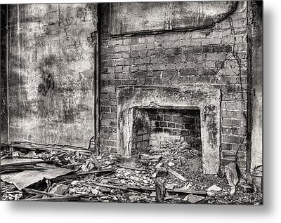Gather Round Bw Metal Print by JC Findley