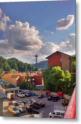 Metal Print featuring the photograph Gatlinburg Tn by Janice Spivey