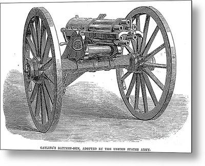 Gatling Gun, 1867 Metal Print by Granger