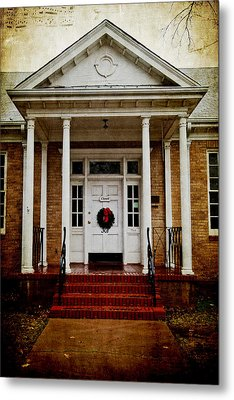 Genealogical Library  Metal Print by Toni Hopper