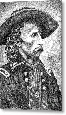 General Custer Metal Print by Gordon Punt