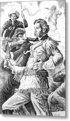 General Custer's Last Stand Metal Print by Gordon Punt