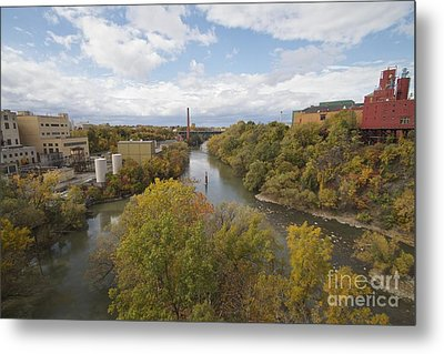 Metal Print featuring the photograph Genesee River by William Norton