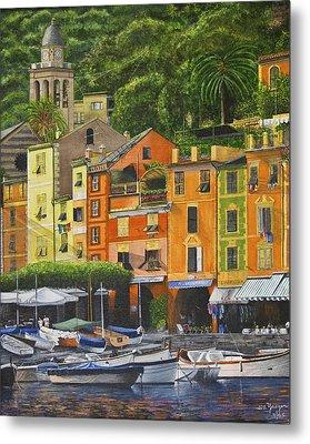 Genoa Marina Metal Print